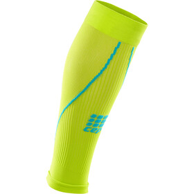 cep Pro+ 2.0 Calf Sleeves Men lime/hawaii blue